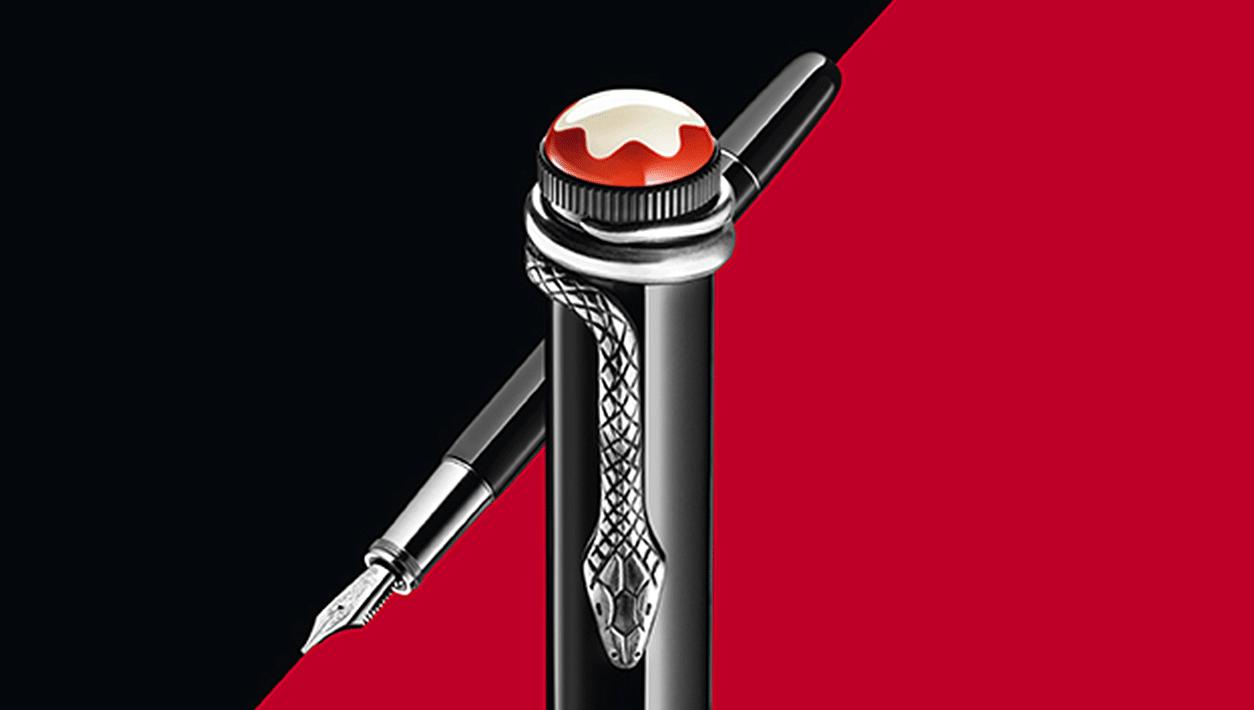 Heritage Rouge Et Noir Black Special Edition Penne