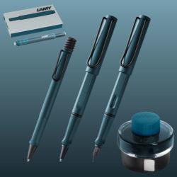 Lamy-Safari-Petrol-Pen-Collection