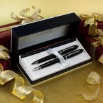 Set Cross Townsend matte black  fountain and ballpoint
