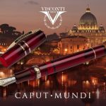 New Visconti HS Crystal Caput Mundi Limited edition
