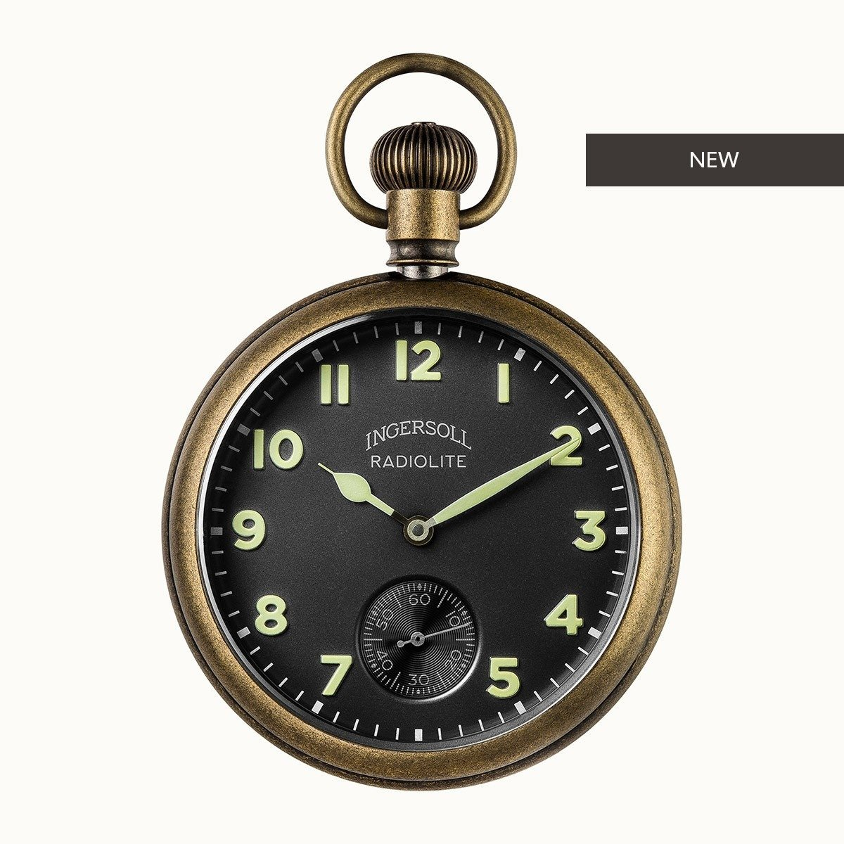 THE TRENTON RADIOLITE POCKET WATCH LIMITED EDITION Penne